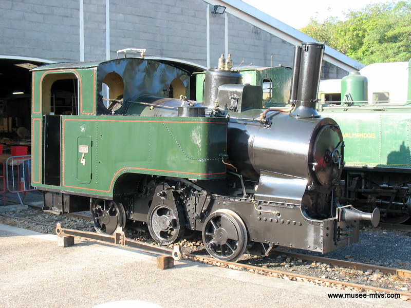 Locomotive TMB 020T n° 4