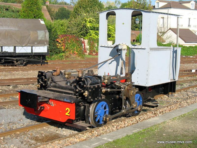 Locomotive Brown Corpet-Louvet n°2