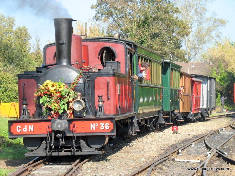 Locomotive Corpet-Louvet 030T n°36