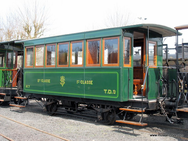 Voiture des Tramways des Deux Sèvres