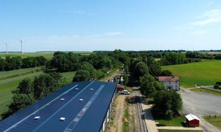 La construction du toit est terminée