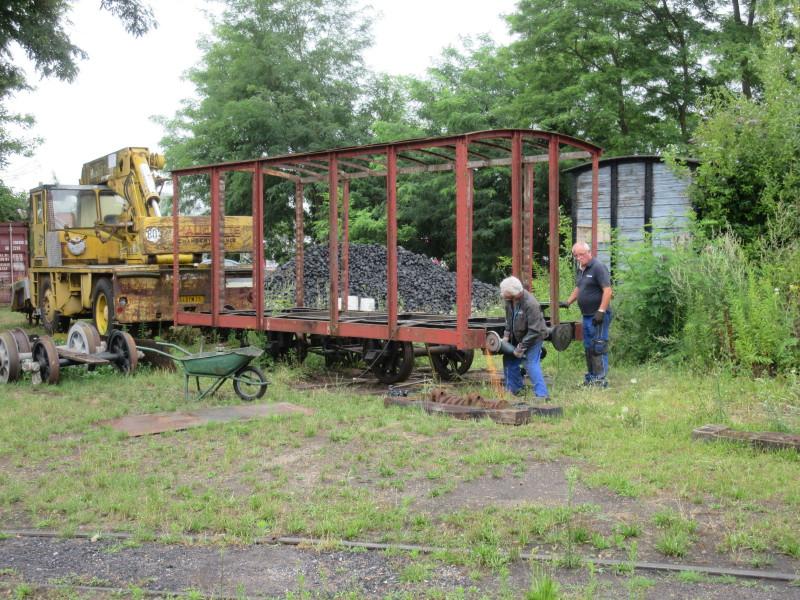 Wagon BA de secours