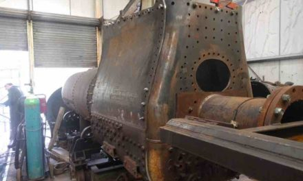Chaudière locomotive Decauville