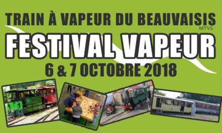 Festival Vapeur 2018 | 6 et 7 octobre