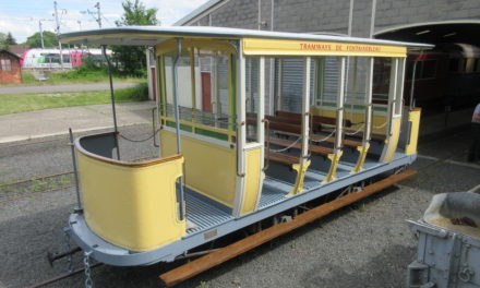 La baladeuse N°11 des tramways de Fontainebleau bientôt la fin des travaux.